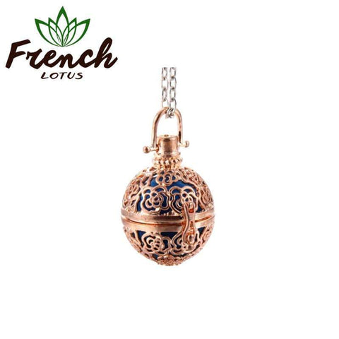 Aromatherapy Diffuser Necklace | French Lotus