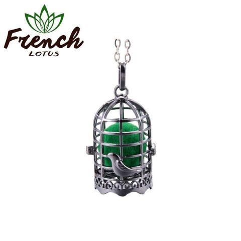 Aromatherapy Pendant Necklace | French Lotus