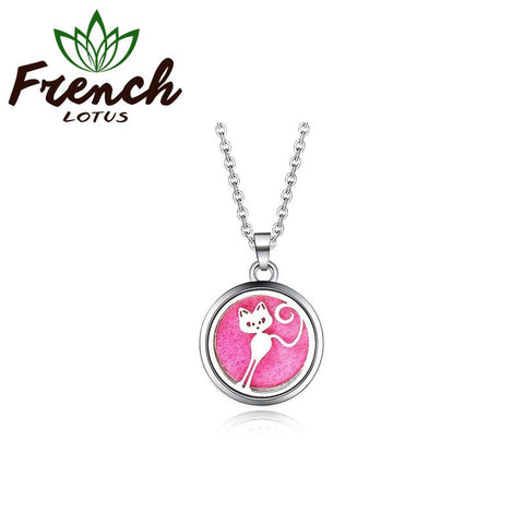 Cat Pendant | French Lotus