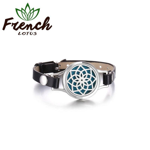 Diffuser Leather Bracelet | French Lotus