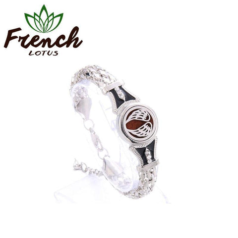 Essential Oil Bracelet Black | French Lotus