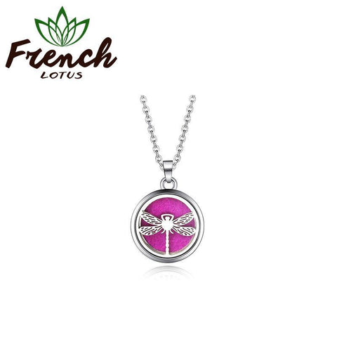 Essential Oil Diffuser Locket | French Lotus
