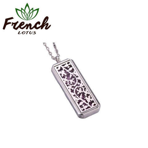 Essential Oil Diffuser Necklace | French Lotus