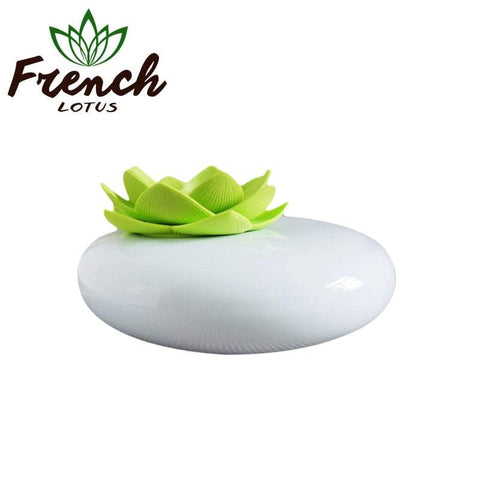 Essential Oil Diffuser With A Ceramic Flower | French Lotus
