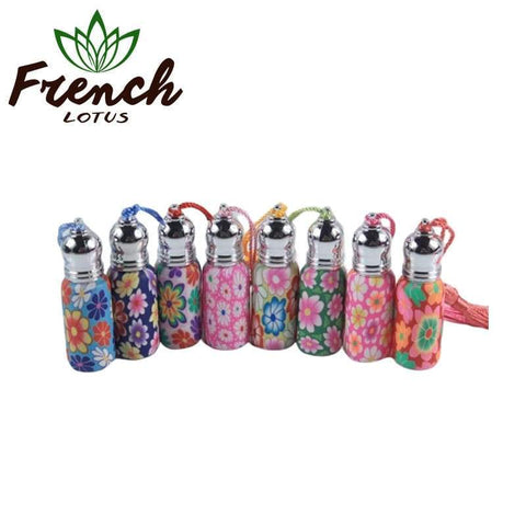 Essential Oil Glass Roller Bottles | French Lotus