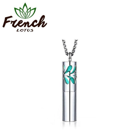 Essential Oil Necklace | French Lotus