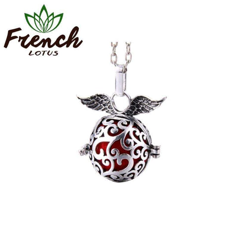 Essential Oil Pendant Necklace | French Lotus
