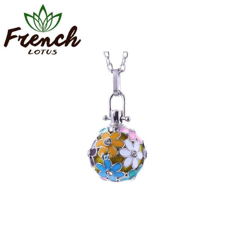 Essential Oil Pendant | French Lotus