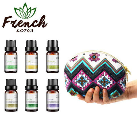 Essential Oil Travel Kit | French Lotus
