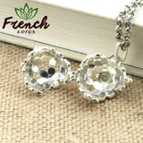 French Lotus™ | <b>Aromatherapy Necklace</b><br> Floret Essential Oil Pendant - French Lotus