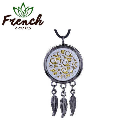 Feather Aroma Pendant | French Lotus