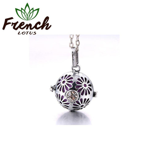 Floral Aroma Necklace | French Lotus