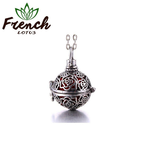 Floral Bowl Pendant | French Lotus