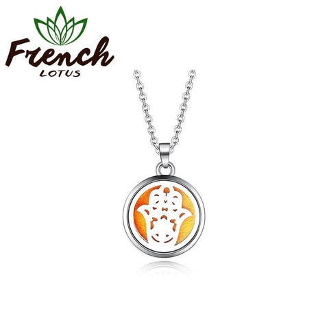 Khamsa Pendant | French Lotus