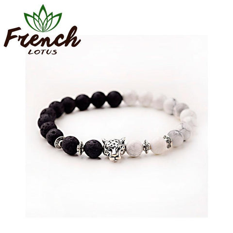 Lava Bead Diffuser Bracelet | French Lotus