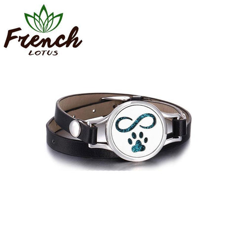 Leather Diffuser Bracelet | French Lotus