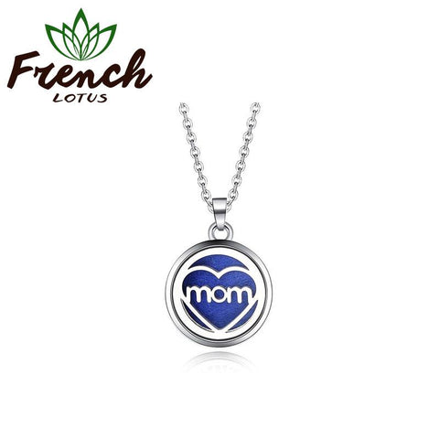 Love Mom Pendant | French Lotus