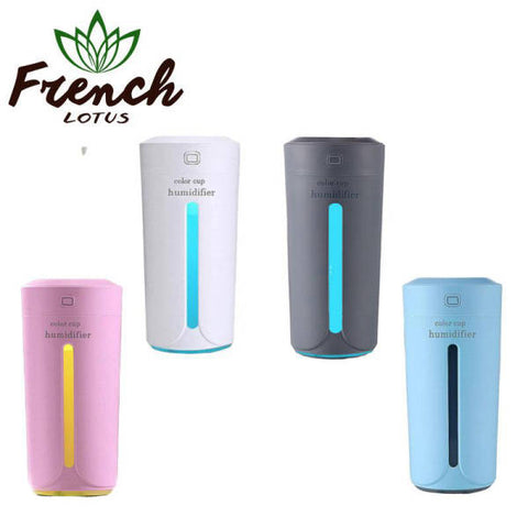 Mini Air Humidifier For Car | French Lotus
