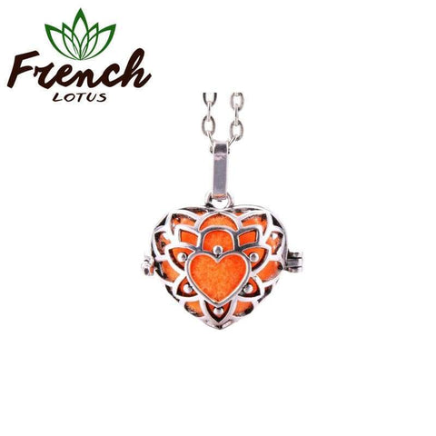 Oil Diffuser Necklace | French Lotus