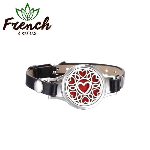Stainless Steel Diffuser Bracelet | French Lotus