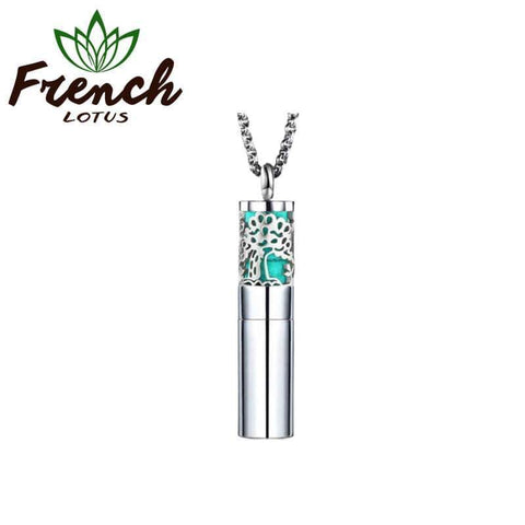 Sterling Silver Diffuser Pendant | French Lotus
