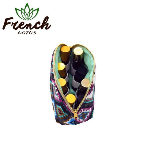 Travel Bag For Essential Oils | French Lotus