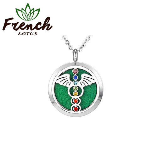 Wings Chakra Pendant | French Lotus