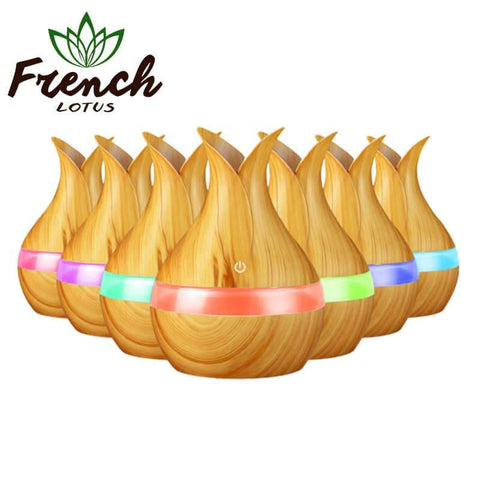 Wood Grain Diffuser | French Lotus