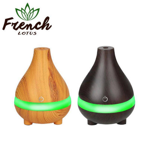 Wood Light Diffuser | French Lotus