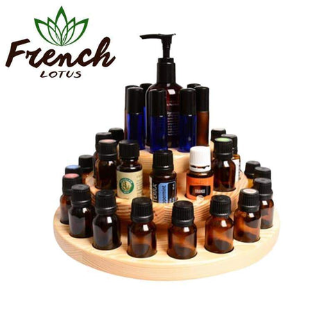 Wooden Storage Box For Essential Oils | French Lotus