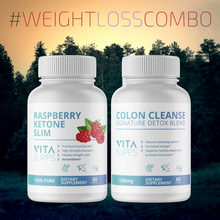 Load image into Gallery viewer, Raspberry Ketone Slim & Colon Cleanse