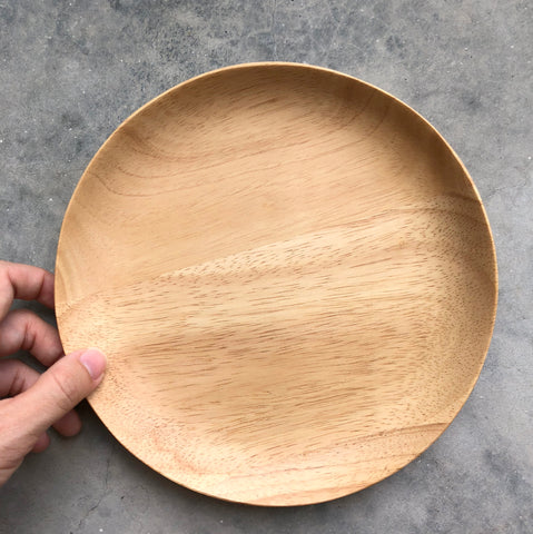 Round Wooden Tray (Medium)
