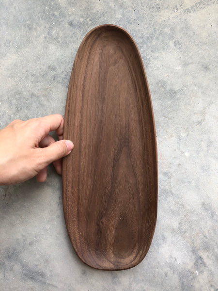 Irregular Wooden Tray (Long)