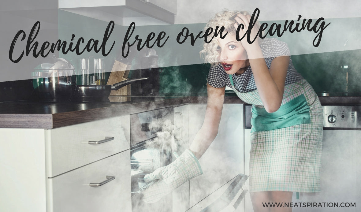 Clean your Oven with NO Chemicals!