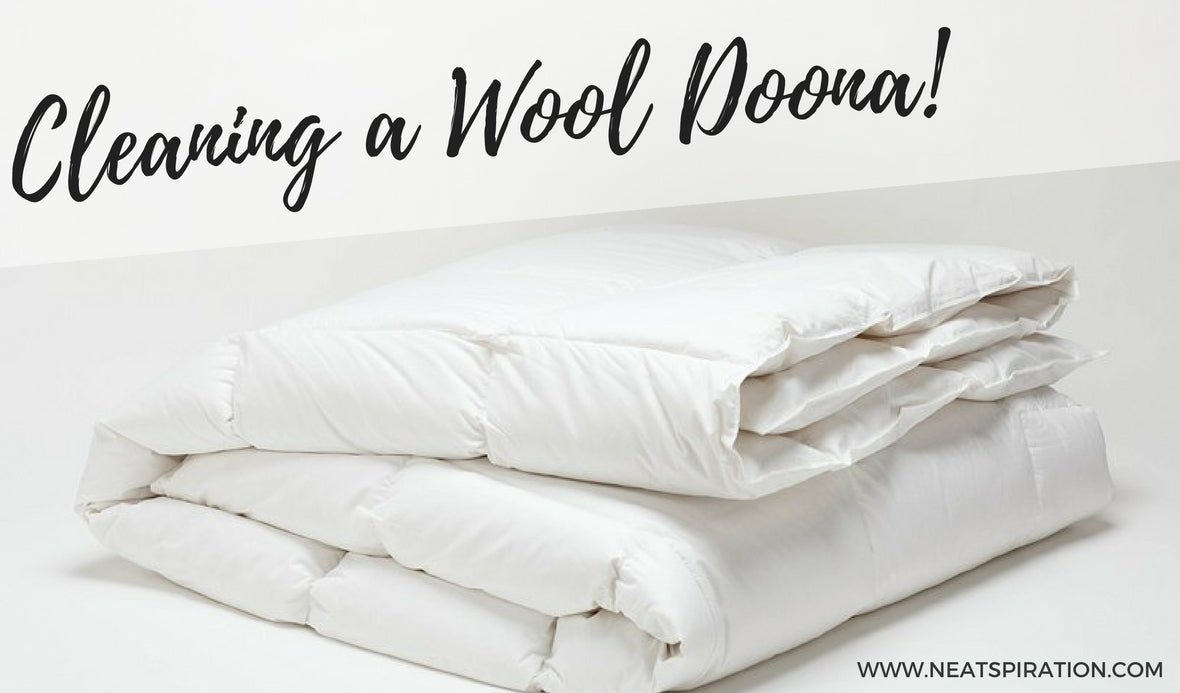 Cleaning a Wool Doona