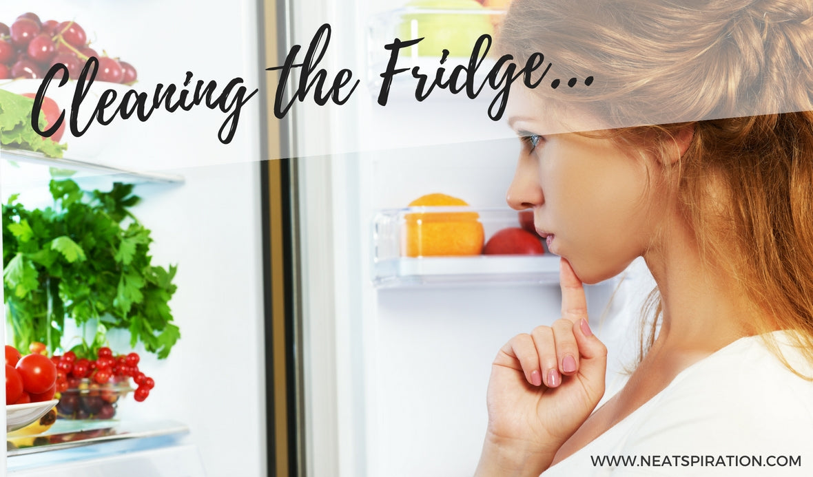 Cleaning the Fridge…