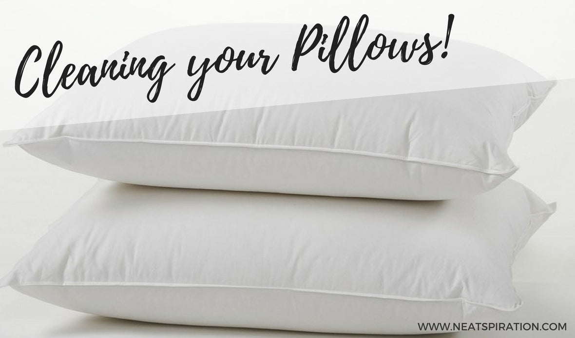 Cleaning your Pillows!