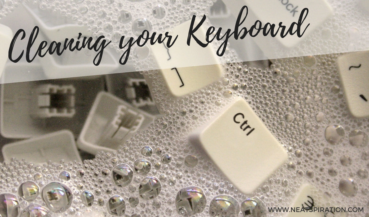 Cleaning your keyboard!