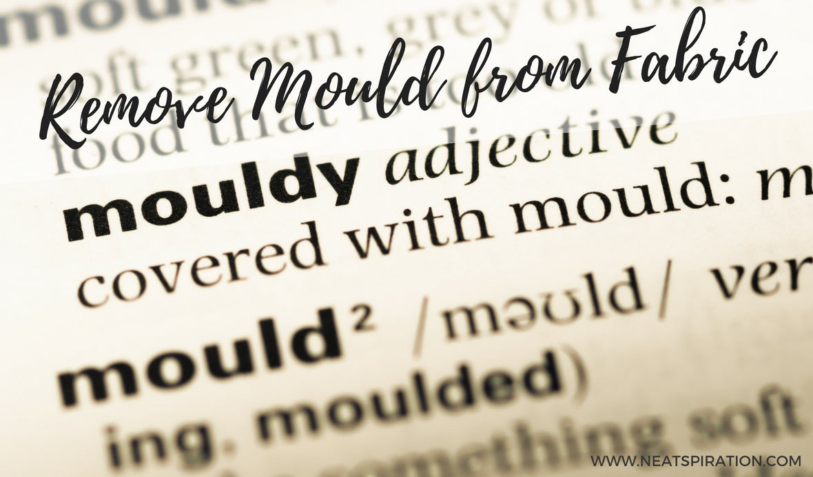 How to remove Mould from Fabric.