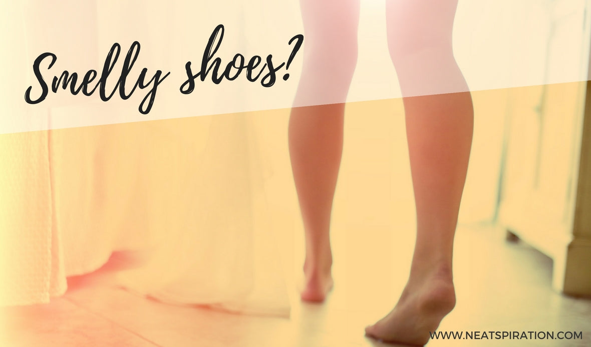 6 ways to stop shoes from smelling!