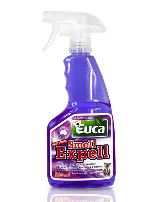 Euca -Smell Expell – 4 in One Air Freshener, Disinfectant, Deodoriser & Cleaner Floral Fresh 500ml