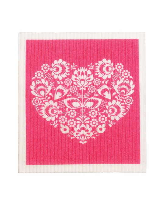 Retro Kitchen - Swedish Dishcloth Heart
