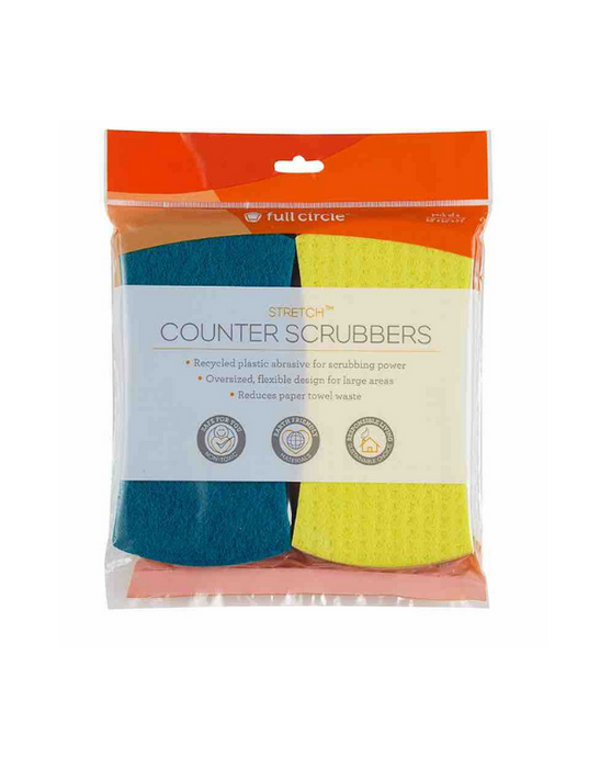 FULL CIRCLE - STRETCH Counter Scrubbers - Set of 4