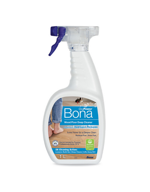 Bona Oxy Power Timber Floor Deep Cleaner 1L Trigger Spray