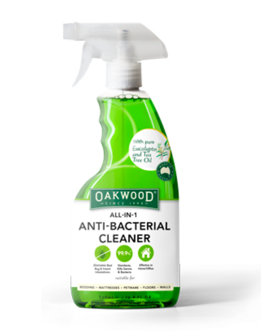 Oakwood - All-in-1 Anti Bacterial Cleaner 500ml