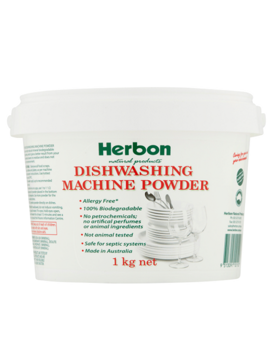 Herbon - Dishwashing Machine Powder 1kg