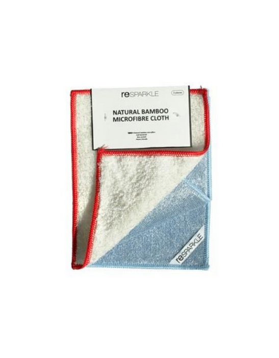 Resparkle - Bamboo Microfibre Cloth – pack of 3
