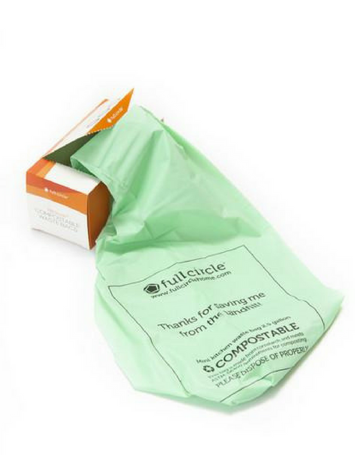 FULL CIRCLE - FRESH AIR - Compostable waste bags