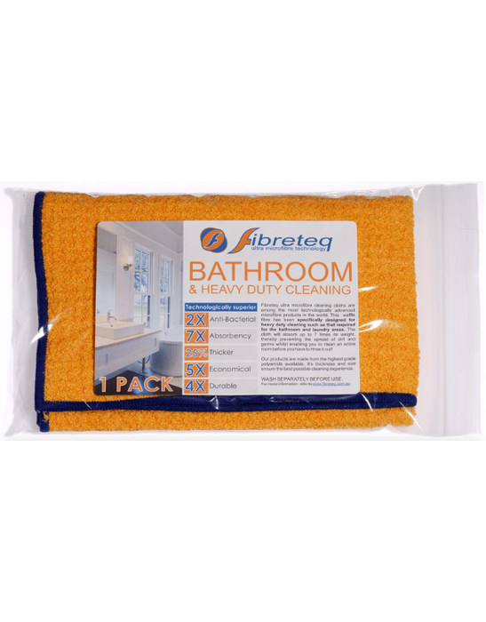 Fibreteq - Microfibre Cloth Bathroom