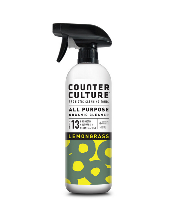 Counter Culture - Probiotic All Purpose Cleaner Lemongrass 500mL
